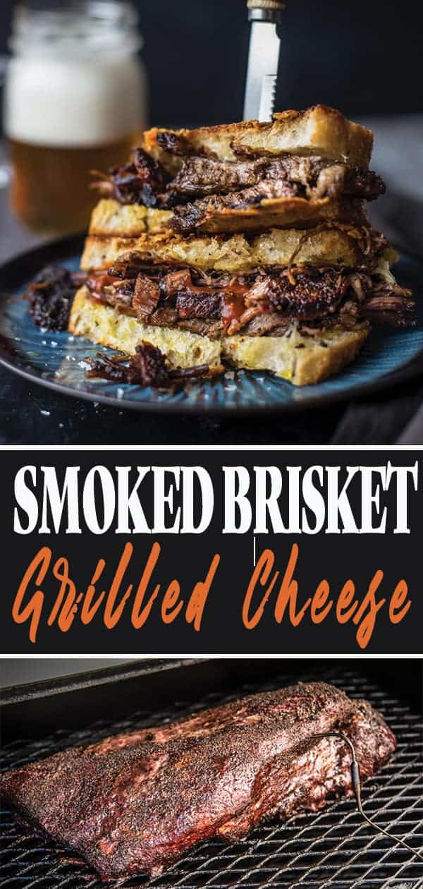 Brisket Grilled Cheese Sandwich images