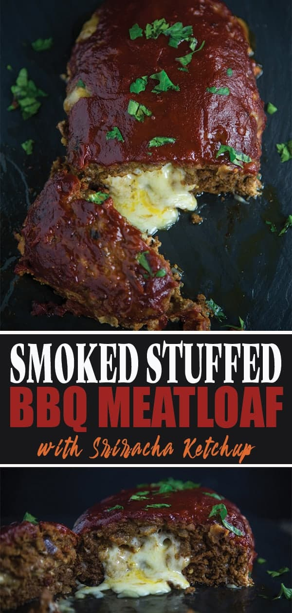 Smoked Stuffed BBQ Meatloaf pin