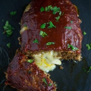 Smoked (BBQ) Stuffed Meatloaf