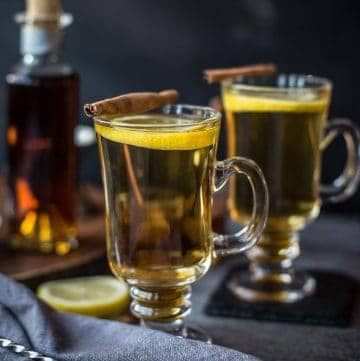 Hot Toddy with Cognac