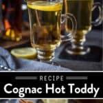 Cognac Hot Toddy Pin
