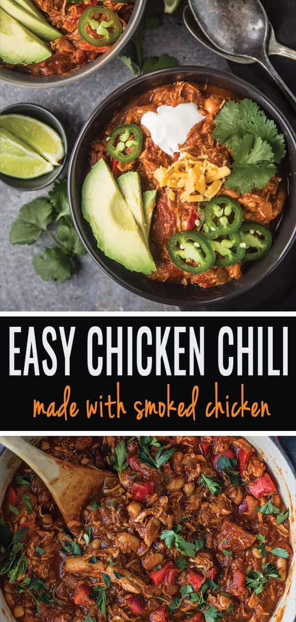 Chicken Chili pin for pinterest