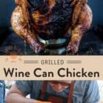 Wine Can Chicken pin
