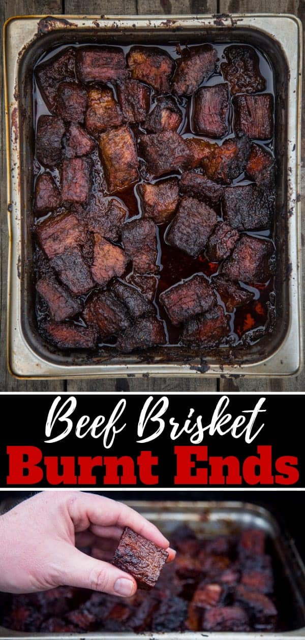Beef Brisket Burnt Ends Pinterest Image