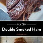 Double Smoked Ham pinterest Pin