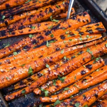 Grilled and Glazed Carrots Recipe