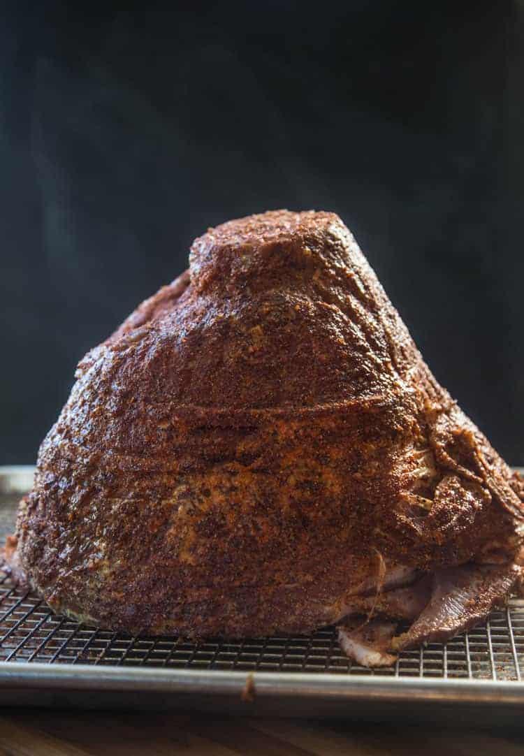 Seasoning a Ham