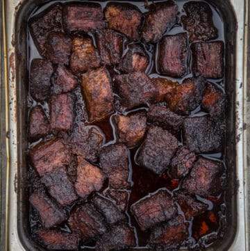 The Ultimate Brisket Burnt Ends – with American Wagyu Beef