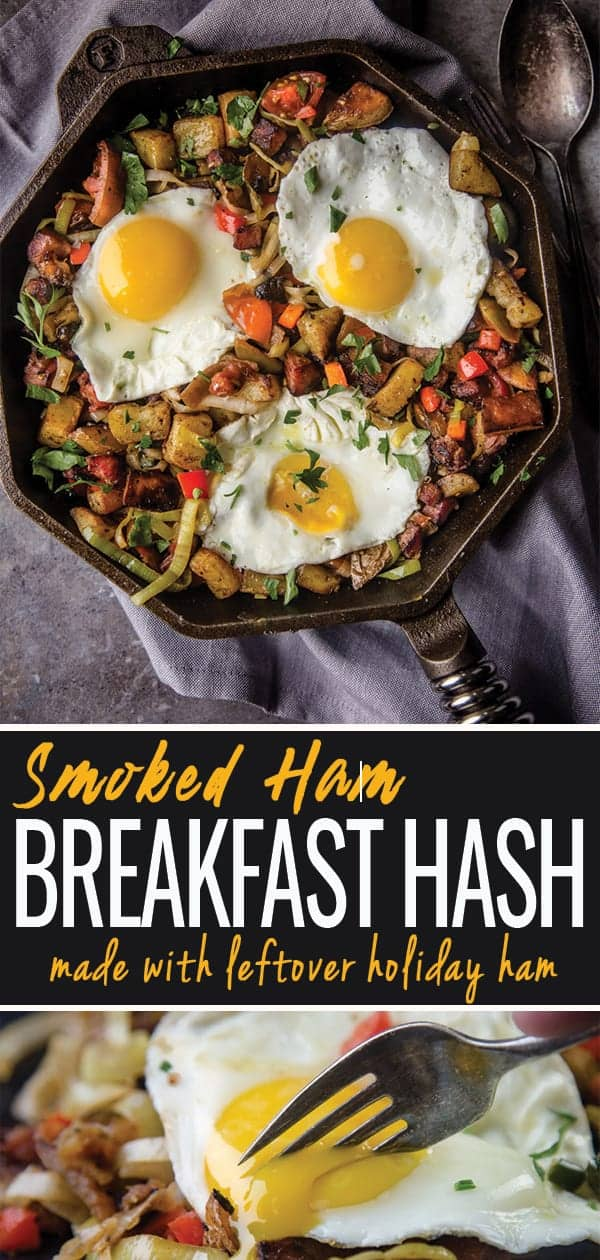 Breakfast Hash image for Pinterest