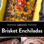 Beef Enchiladas Pin
