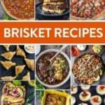 Leftover Brisket Recipe Round-Up Pin