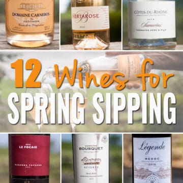 12 Wines for Spring