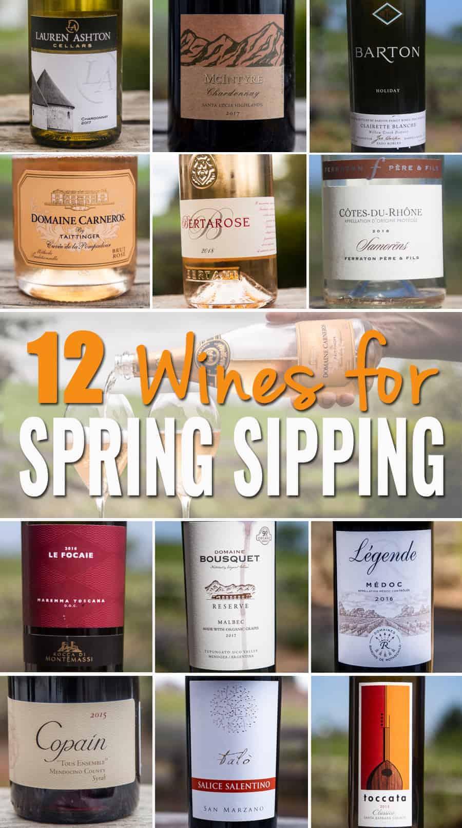 12 Wine Bottles