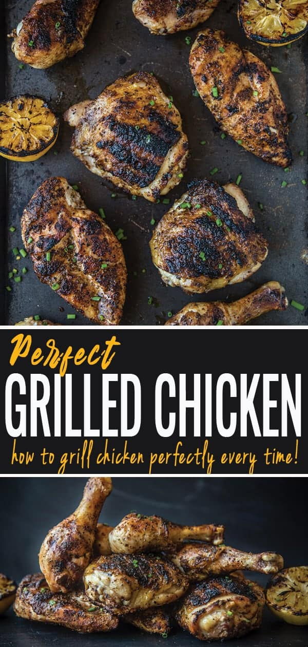 Grilled Chicken pin for pinterest