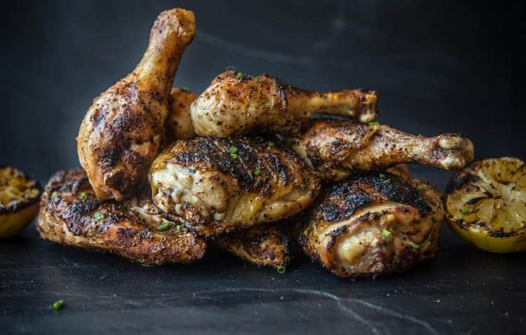 Grilled chicken peices