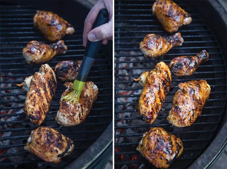 How to Glaze Chicken on the Grill