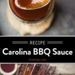 vinegar bbq sauce pin
