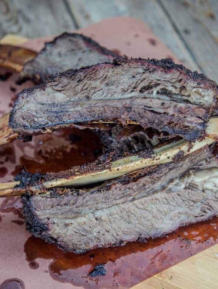 Smoked Beef Plate Ribs