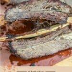 Smoked Beef Plate Ribs pin