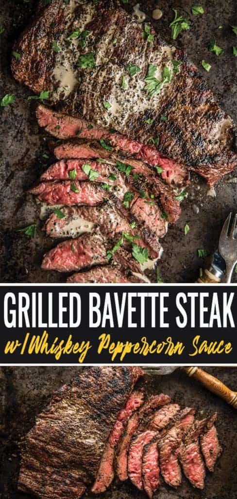 Bavette Steak pin for Pinterest