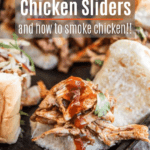 pulled bbq chicken sliders pinterest image