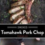 Tomahawk Pork Chops Pin