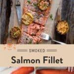 Smoked Salmon Fillet Pinterest Pin