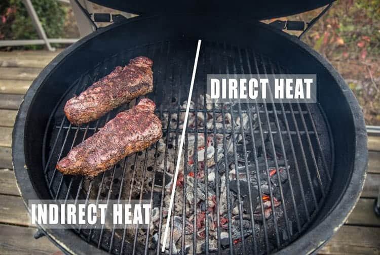 A guide to direct heat grilling vs indirect heat grilling