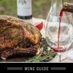 Holiday Roast Wine Pairings Pin