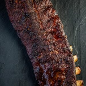 Smoked Baby Back Ribs recipe