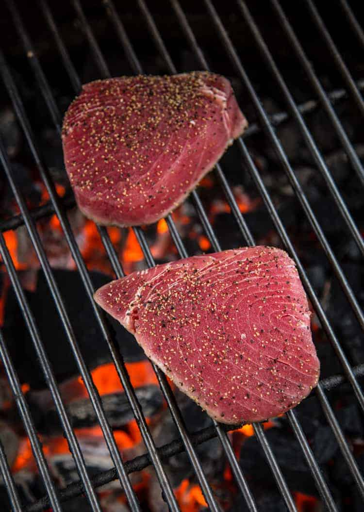Grilling Ahi Tuna Steaks