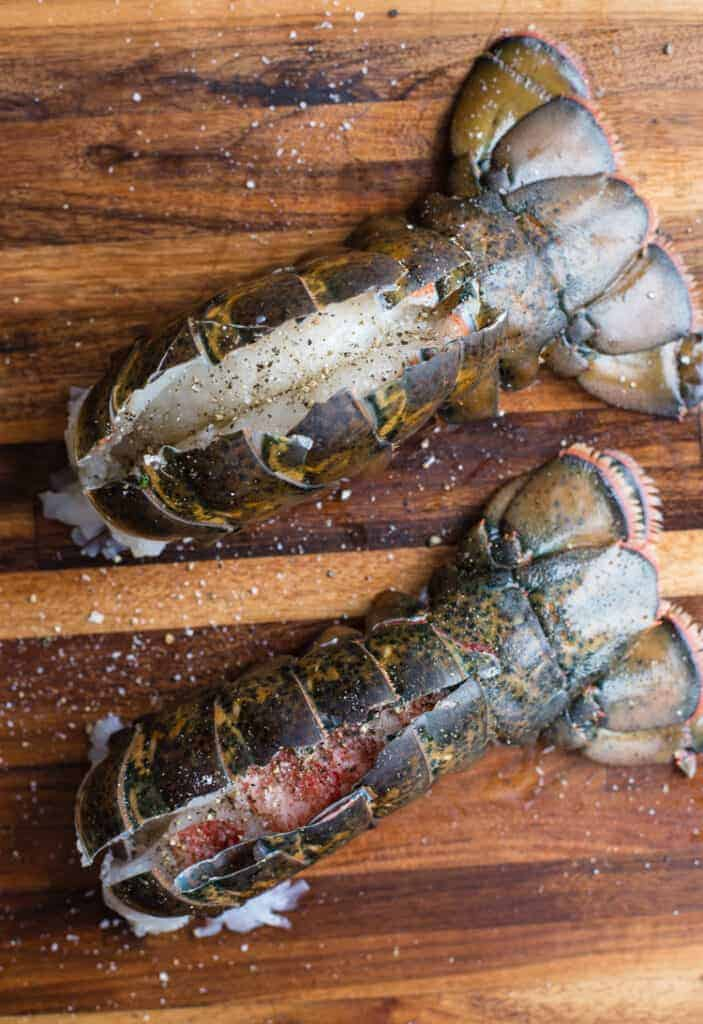 How to season lobster tails