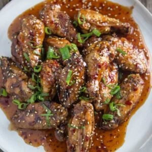 Smoked Wings with Thai Chili Sauce