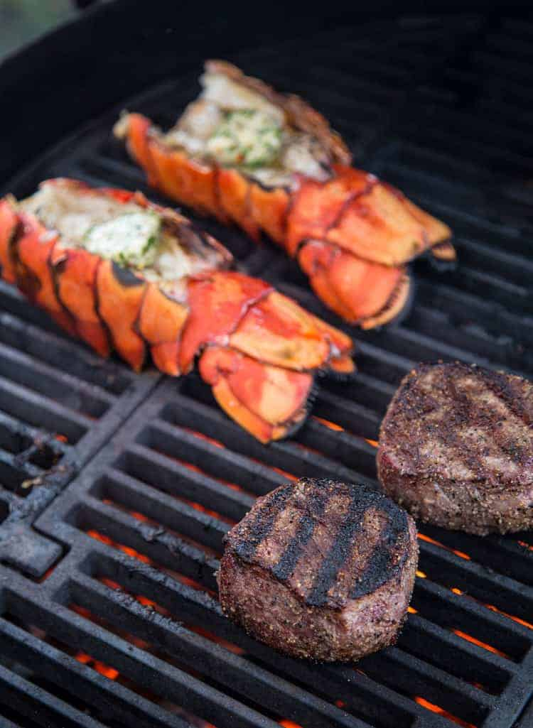 Surf and Turf on the Grill