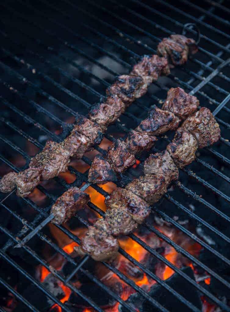 Grilled Steak Skewers