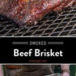 Smoked Brisket Pinterest Pin