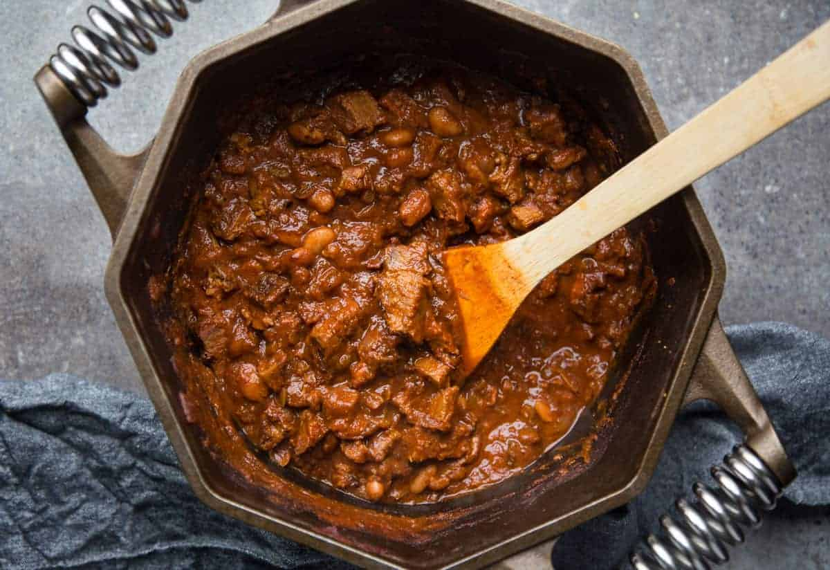Rich and hearty chili