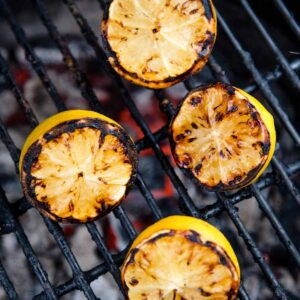 How to grill lemons