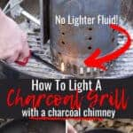 Pin for how to light charcoal grill.
