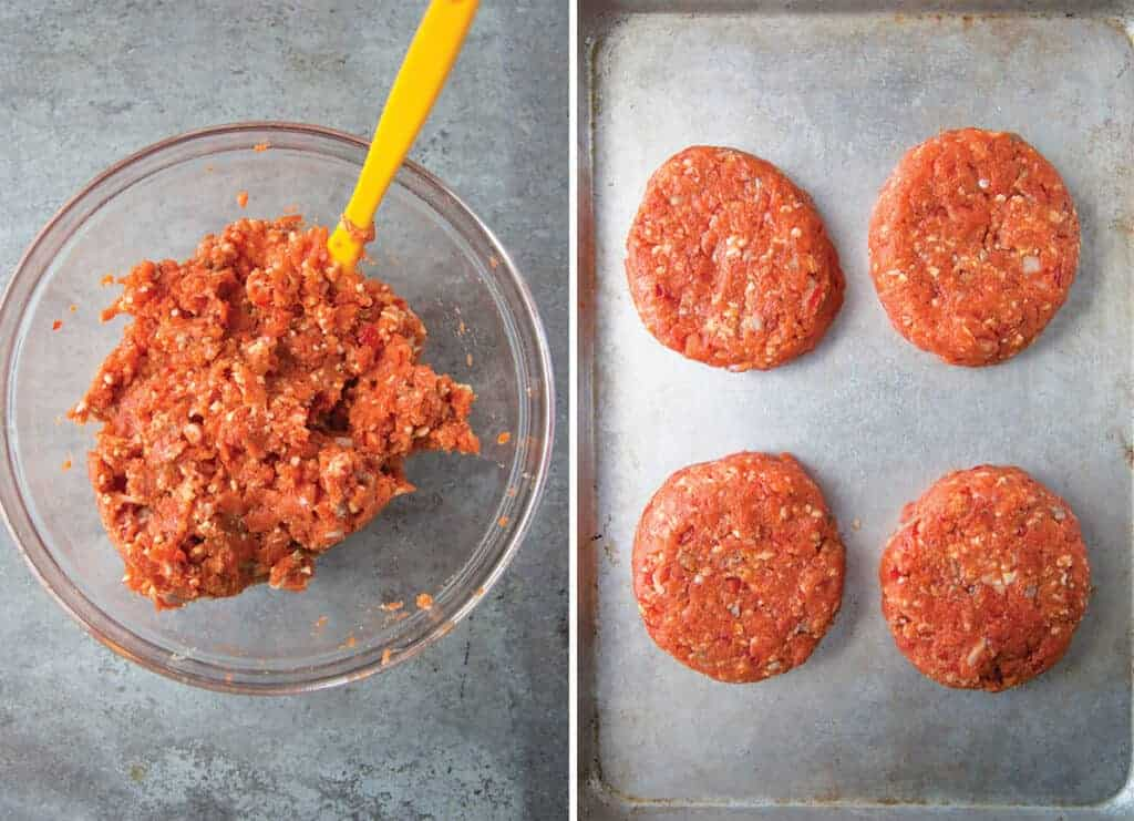 how to make fresh salmon patties for grilled salmon burgers
