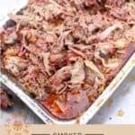 Smoked Pork Shoulder pinterest pin