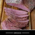 Smoked Corned Beef Pinterest Pin