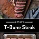 T-bone Steak Pin