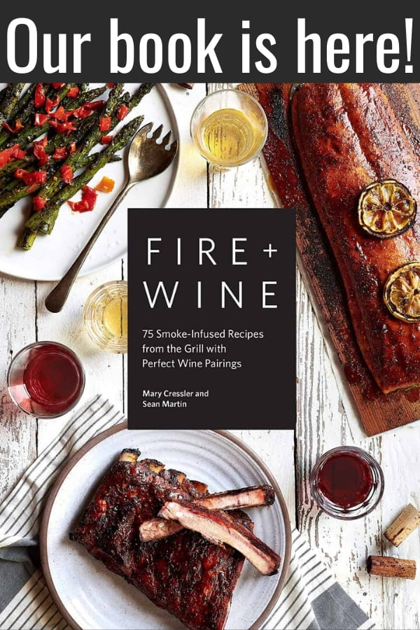 Fire and Wine Cookbook cover