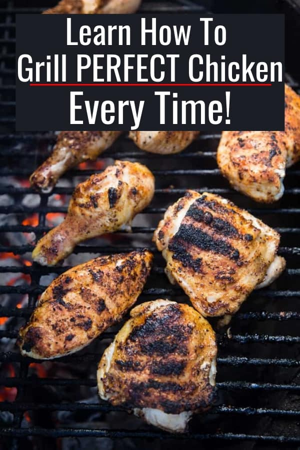 Cut chicken on the grill, learn how to perfectly grill chicken