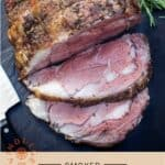 Smoked Prime Rib Pinterest Pin