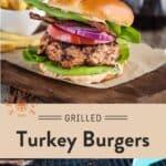Turkey Burger Pinterest Pin