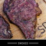 Smoked Ribeye Steak Pinterest Pin