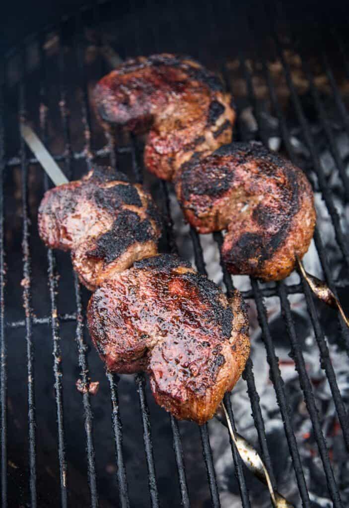 Picanha Steak on Long Skewers