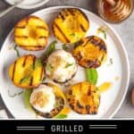 Grilled Peaches Pin